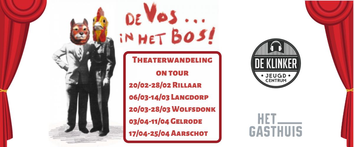 Theaterwandeling Aarschot: De Vos... in het bos